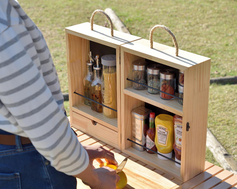 調味料・スパイスボックスは何を使ってますか?どこのブランド?それとも自作?