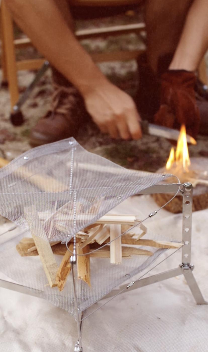 Campig Multi Stove 焚き火台[KingCamp]口コミ実践レビュー